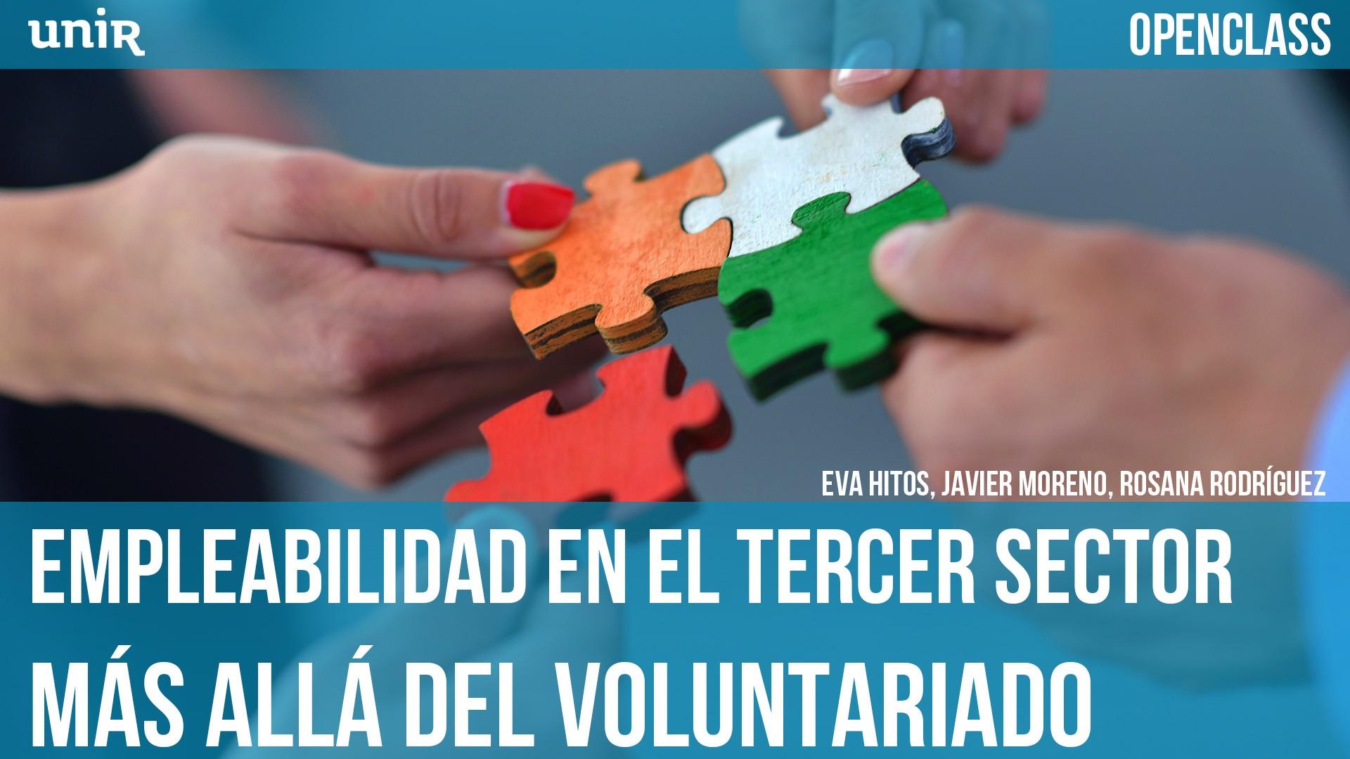 OPENCLASS: Empleabilidad en el Tercer Sector. Más allá del voluntariado
