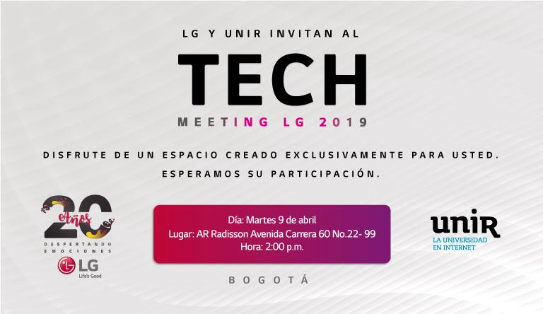Jornada de puertas abiertas en LG Colombia para alumnos UNIR