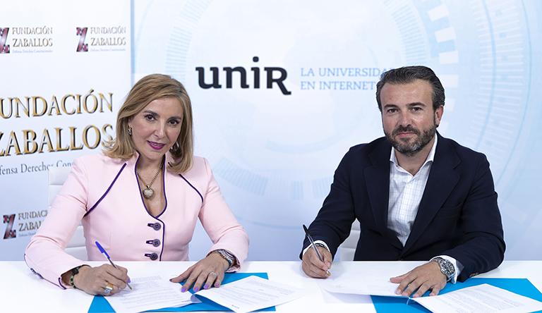 UNIR y la Fundación Zaballos se unen por la defensa de la educación como Derecho Constitucional