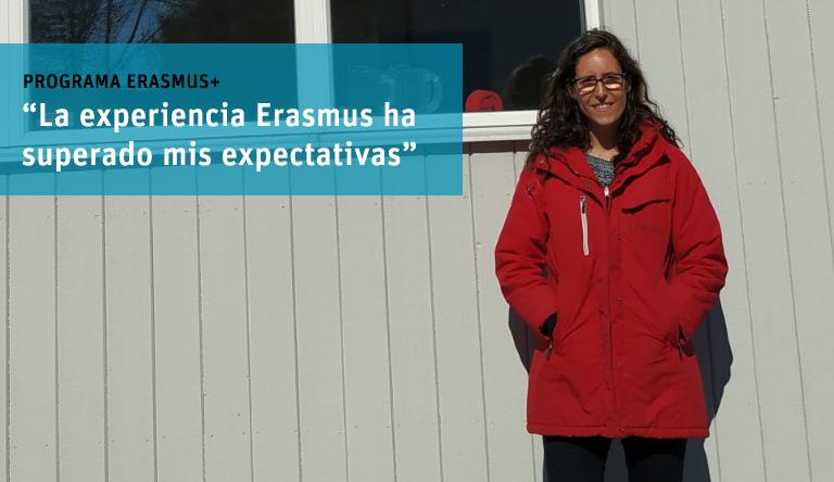"""""""La experiencia Erasmus debería ser obligatoria para alumnos de educación"""". Entrevista a Silvia Vives."""