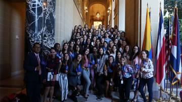 Nuestra alumna Andrea Viso nos cuenta su experiencia de prácticas internacionales en OEA Washington