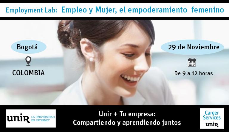 ¿Quieres asistir al Employment Lab de UNIR en Colombia?