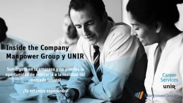 ¡Ven con nosotros al Inside The Company en ManpowerGroup!