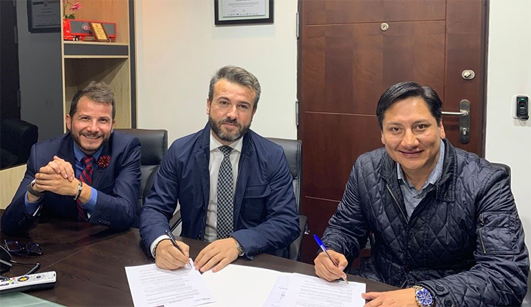 TRIBOILGAS nuevo Partner de UNIR en Ecuador