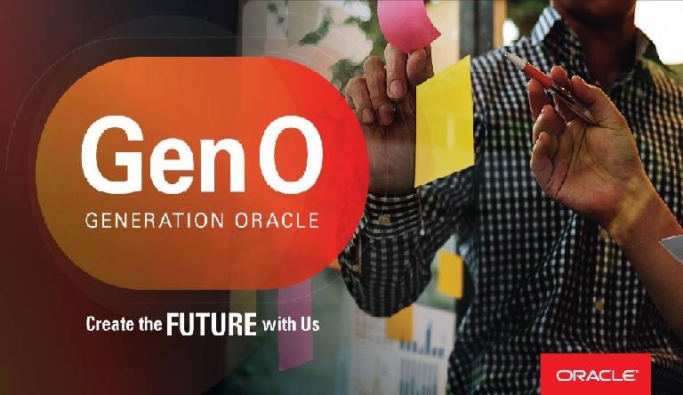 Oportunidad Oracle - Programa de prácticas GenO