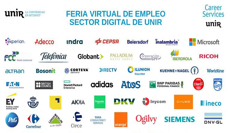 ¡Conoce todos los pormenores de nuestra Feria Virtual de Empleo Sector digital UNIR!