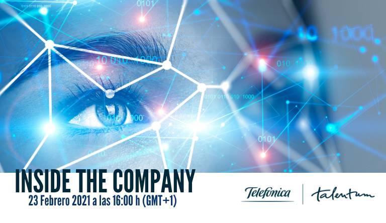 ¡Participa en el Inside The Company en Telefónica!